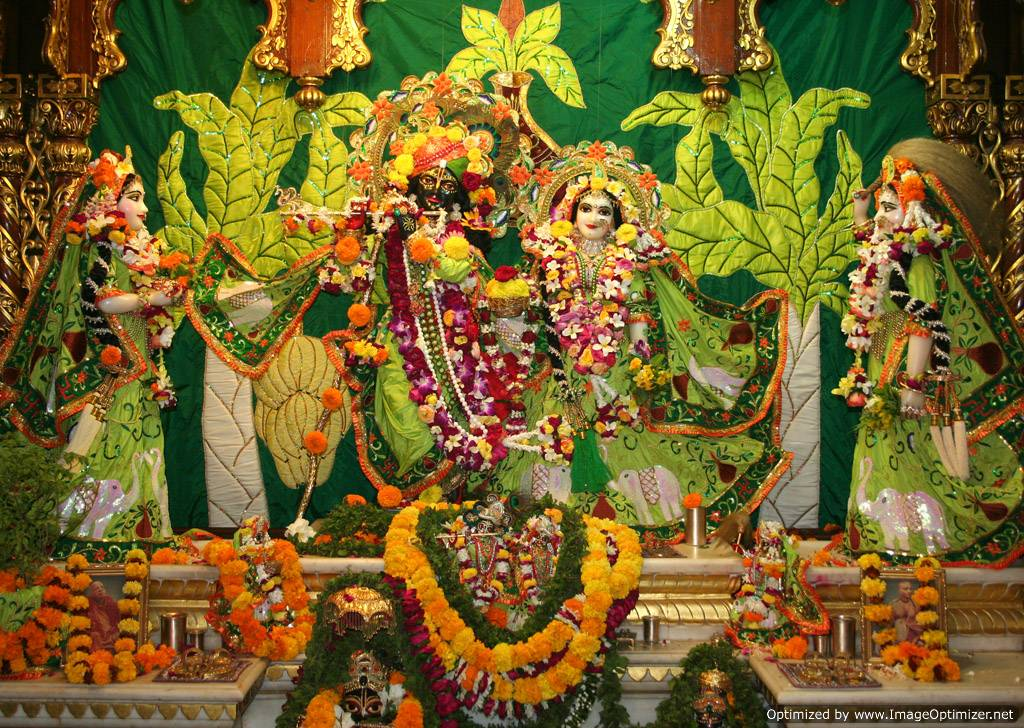 Lord-Krishna & Radha ~ Vrindavan