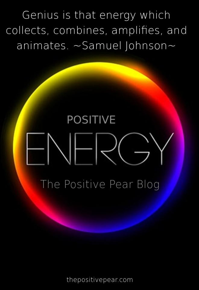 positive energy | The Positive Pear