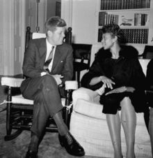 KENNEDY MEETS WITH WILMA RUDOLPH