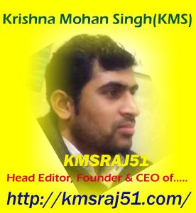 Krishna Mohan Singh-KMS-KMSRAJ51