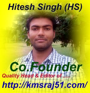 Hite-kmsraj51-Co-Founder