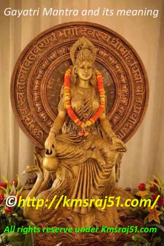 Gayatri Mantra-Kmsraj51