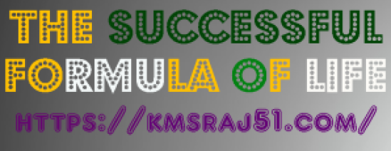 The successful formula of life-KMSRAJ51