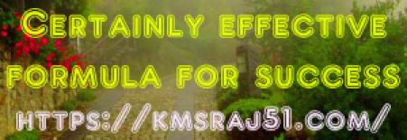 kmsraj51-certainly-effective-formula-for-success